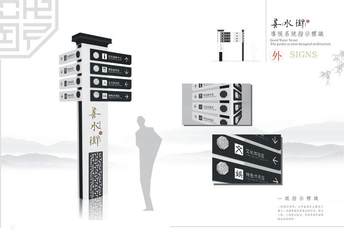 停车场内指示牌_商业街导视系统设计_上海广告设计制作公司【分享百科】